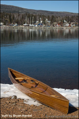 how to make a fiberglass canoe